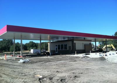 Modular Gas station