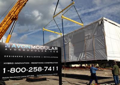 Modular Building installation/Setup Building