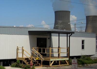 Modular Power Plant Building