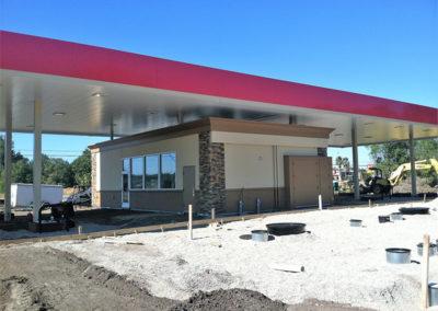 Gas Station Building Modular Franchise Building