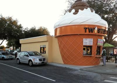 Twistee Treat Modualr Building
